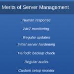 Server management and maintenance