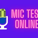 mic test online